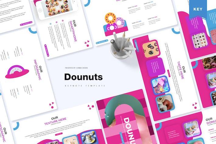 Thumbnail for Даунты | Шаблон Keynote
