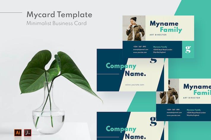 Mytemp - Minimalist Card