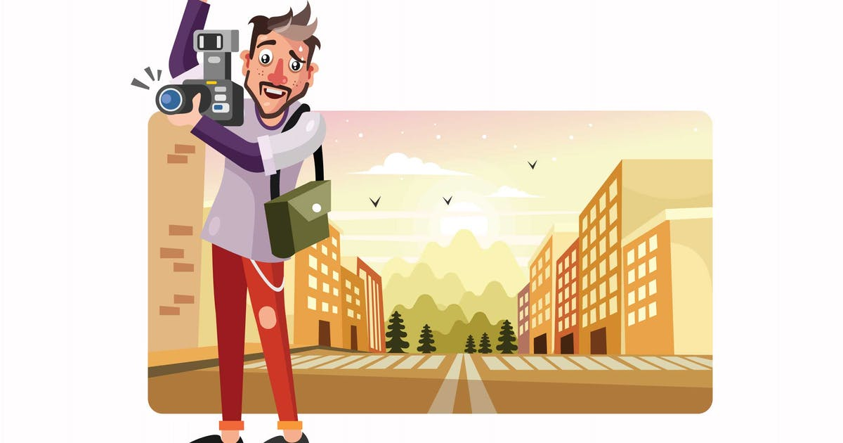 Download Photographer Vector Illustration by IanMikraz