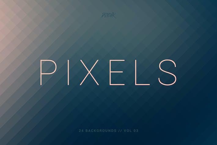 Thumbnail for Пиксели | Пиксельные Фоны | Vol. 03