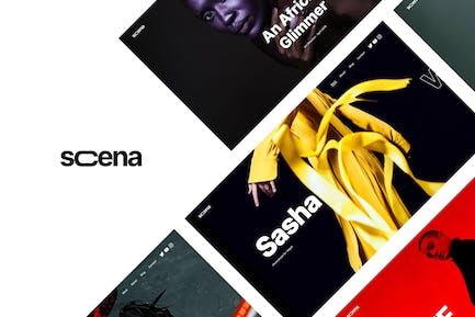 Scena - Creative Portfolio WordPress Theme