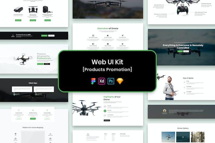 Thumbnail for Web UI Kit Product Promotion