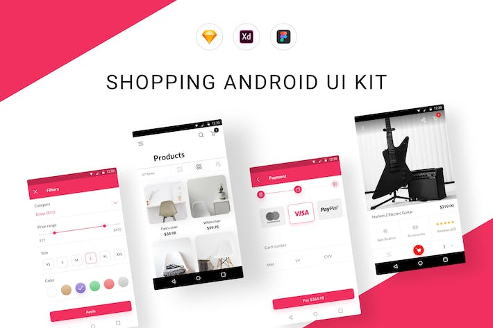 Shopping Android UI Kit