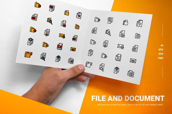 Thumbnail for File & Document - Icons
