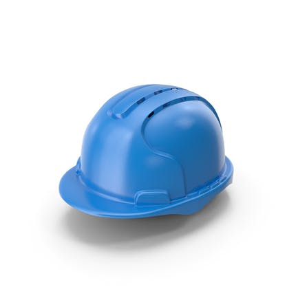 Hard Hat With Aeration Blue