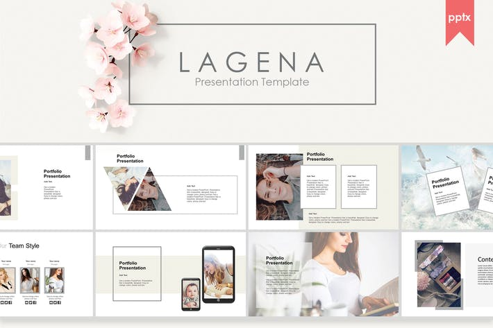 Thumbnail for Lagena | PowerPoint Template