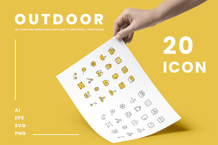 Outdoor - Icons
