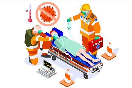 Coronavirus infection, corona virus rescue service