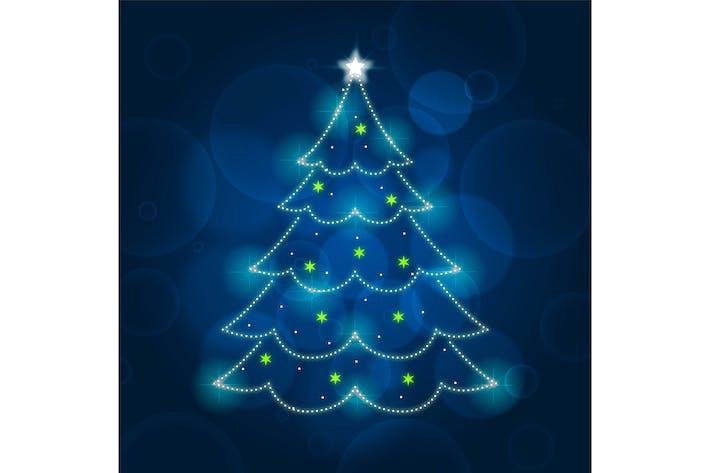Thumbnail for Light Trail Christmas Tree