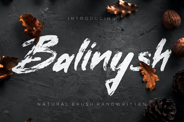 Thumbnail for Balinysh - Pincel natural escrito a mano