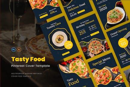 Tasty Food Pinterest Cover