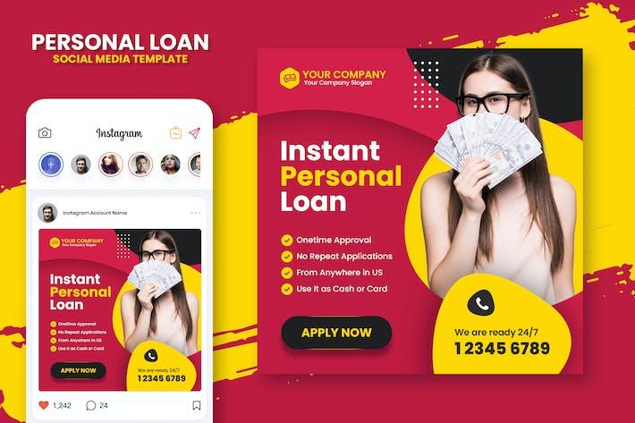 Personal Loan Instagram Template