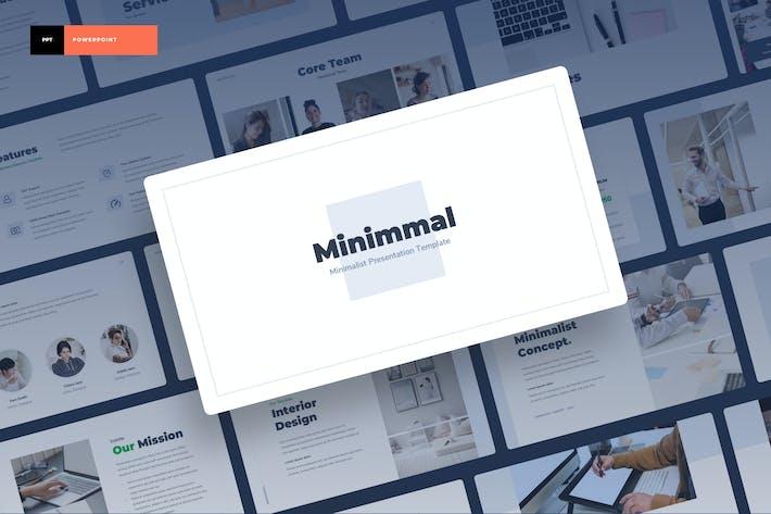 Thumbnail for Minimmal - Minimalist Power Point Presentation