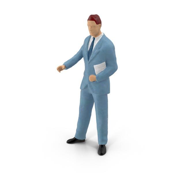 Thumbnail for Miniature Businessman