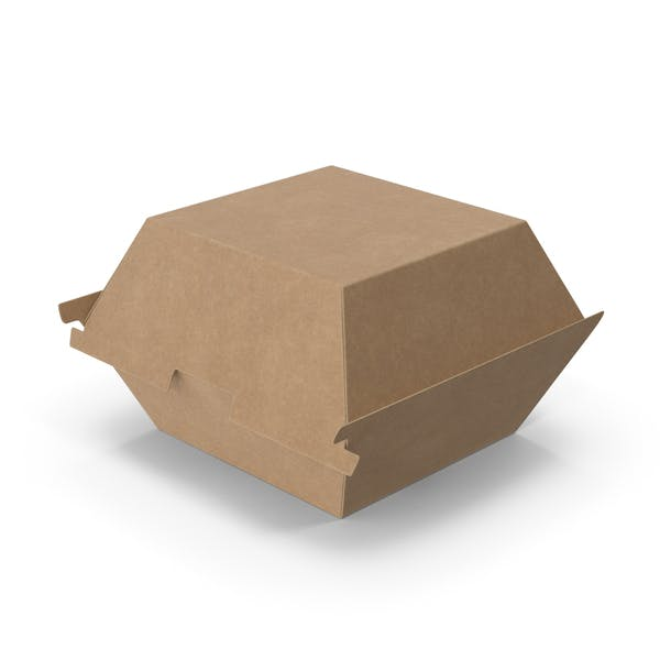 Cover Image for Контейнер для гамбургеров быстрого питания