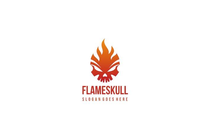 Thumbnail for Fire Skull Logo