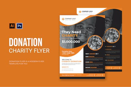 Donation Charity - Flyer