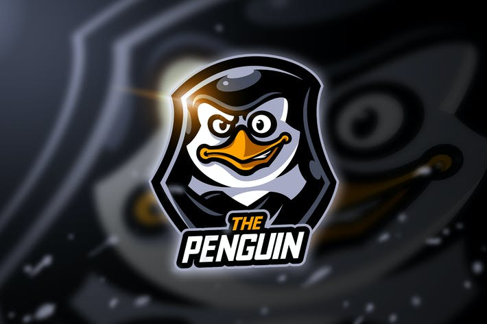 Thumbnail for Penguin - Mascot & Esport Logo