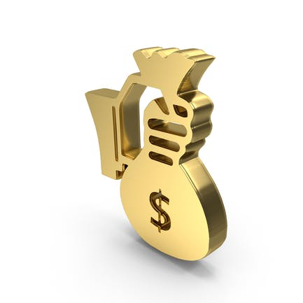 Hand Holding Money Logo Symbol Icon