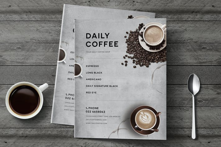 Cover Image For Simple Coffee Menu