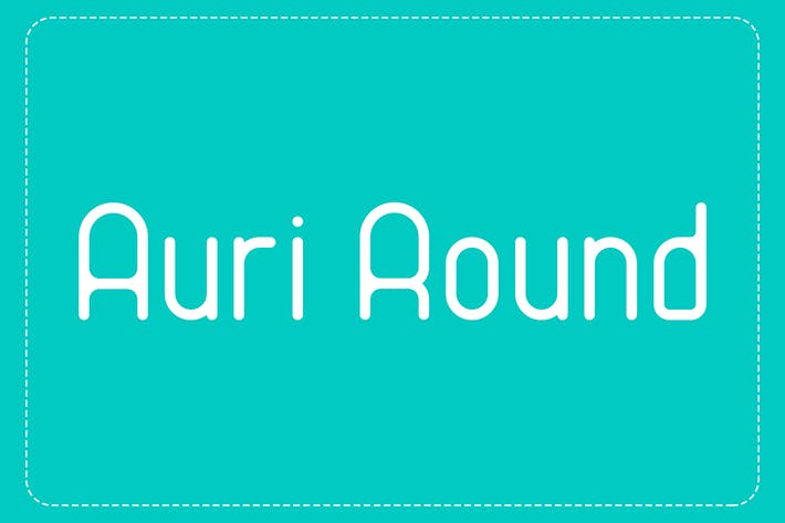 Cover Image For Auri Round Font