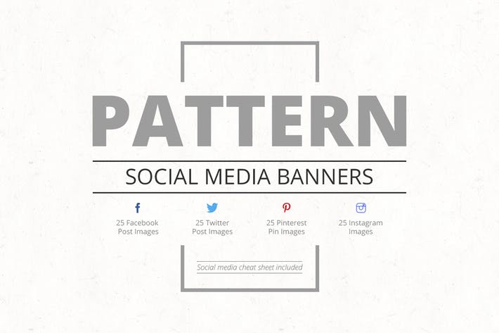 Thumbnail for Pattern Social Media Banners