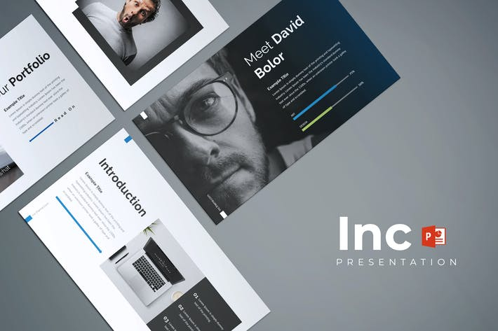 Thumbnail for Inc - Powerpoint Template