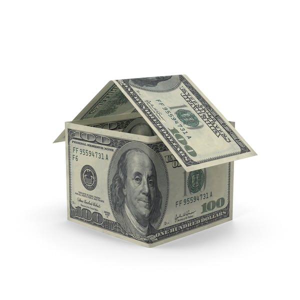 100 Dollar Bill House