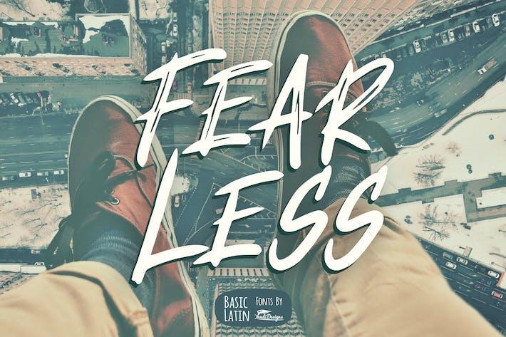 Thumbnail for Fear Less Font