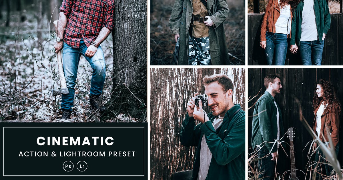 Download Cinematic Tone Photoshop Action & Lightrom Presets by nmc2010