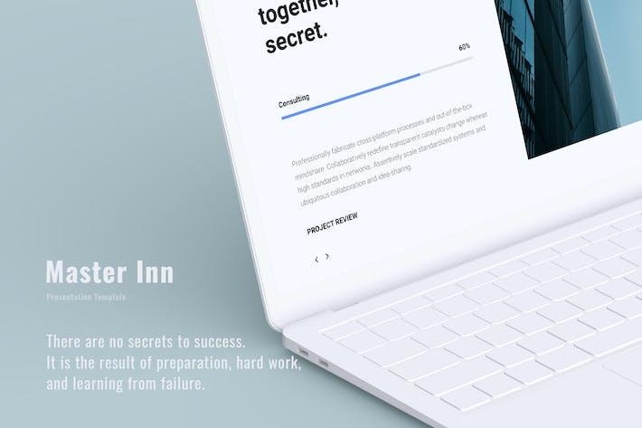 Thumbnail for Master Inn - Business Presentation Template (PPTX)