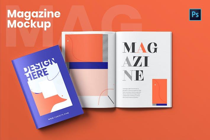 Thumbnail for Magazine Mockup