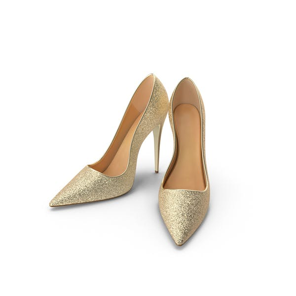 Women's Shoes Gold