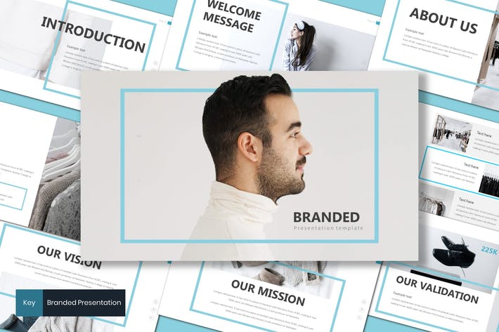 Thumbnail for Branded - Keynote Template