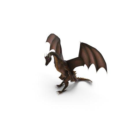 Dragón de pie