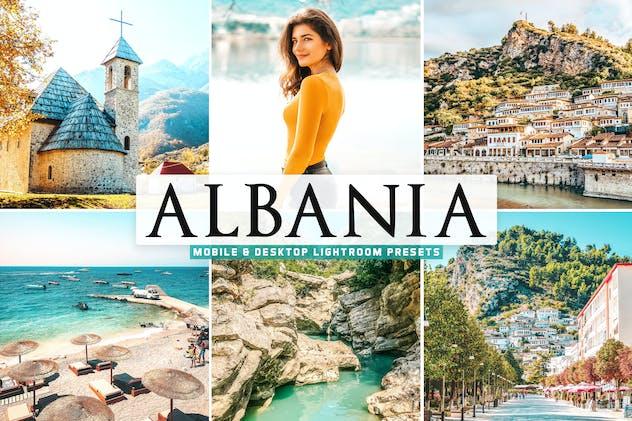 Albania Mobile & Desktop Lightroom Presets