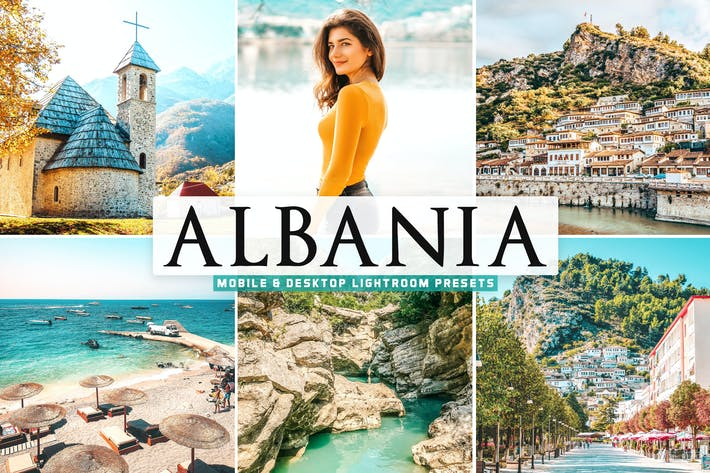 Thumbnail for Albania Mobile & Desktop Lightroom Presets