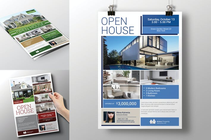 Cover Image For Real Estate / Open House Flyer