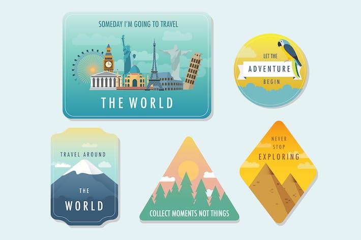 Thumbnail for Insignias de viaje