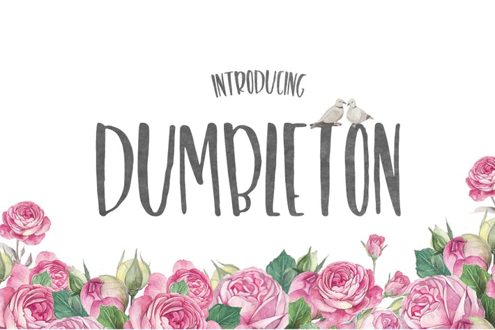 Thumbnail for Dumbleton Font