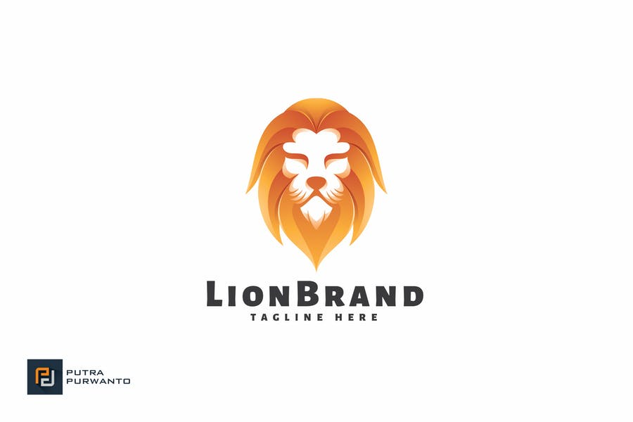 Lion Brand - Logo Template