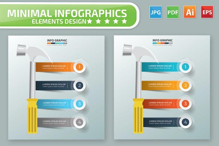 Thumbnail for Hammer Infographic Design