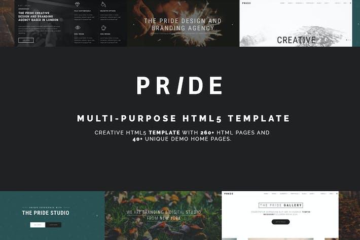 Thumbnail for Pride - Multipurpose HTML5 Theme