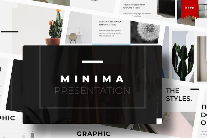 Thumbnail for Minima | Powerpoint Template