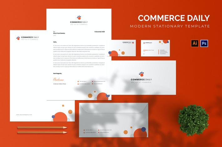 Commerce Daily - Stationary
