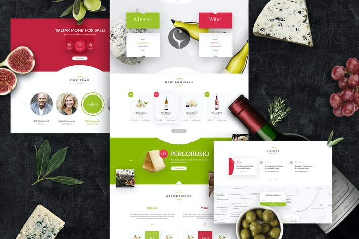 Thumbnail for Camembert – PSD Template
