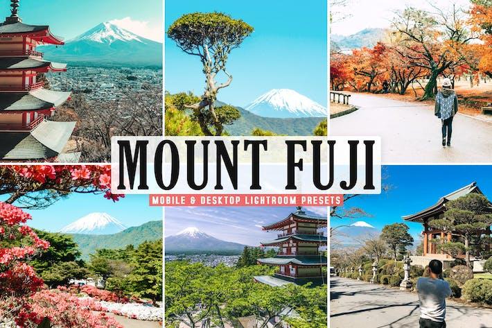 Thumbnail for Mount Fuji Mobile & Desktop Lightroom Presets