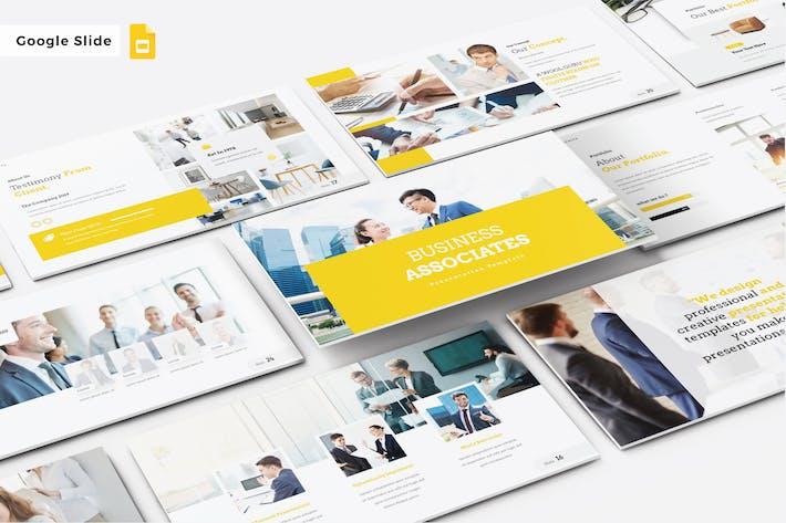 Thumbnail for BUSINESS ASSOCIATES - Google Slide V498