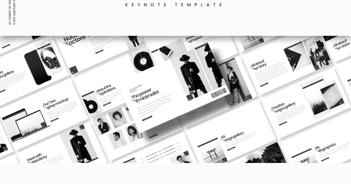 Download Nudo Factore - Keynote Template by aqrstudio