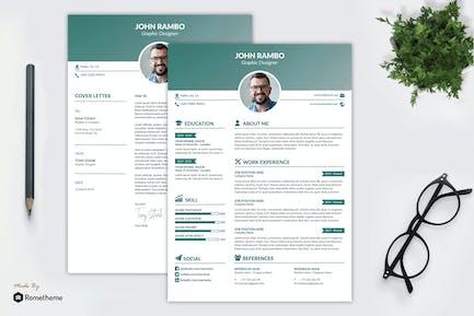 Clean Resume vol. 52 YR